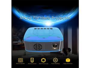 U20 Projector TF HD Mini LCD LED Theater AV Earphone 1080P Home Cinema