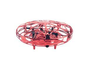 New UFO automatic induction aircraft Red