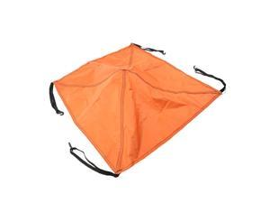 Replacement Tent Top Cap Rain Protection Roof Vent Cover Top Canopy  Orange