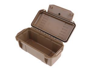 Outdoor Waterproof Shockproof Storage Box Airtight Emergency Dry Box Brown