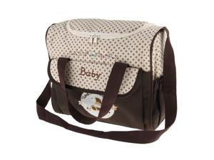 Mummy Multifunctional Baby Diaper Changing Maternity Handbag Coffee