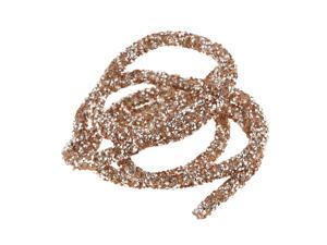 Hollow Bracelet Cord For DIY Jewelry Crafts Christmas Party Decor Champagne