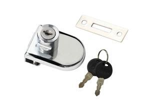 Heavy Duty Display Cabinet Showcase Lock Glass Door Lock  54x38mm B