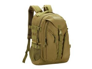 40L MOLLE Rucksack Backpack Outdoor Hunting Camping Hiking Brown