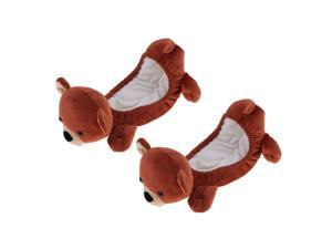 Animal Ice Hockey Figure Skate Blade Covers Soakers Guards Skating Bear