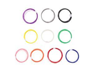 3D Printer Filament PLA 1.75mm For Printers and Print Pens 10Colors 10m