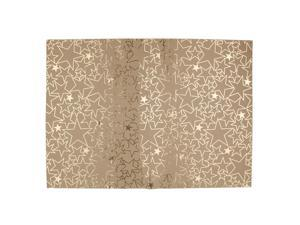 6 Sheets Gilding Star Gift Wrapping Package Paper Craft Party Decor Gold