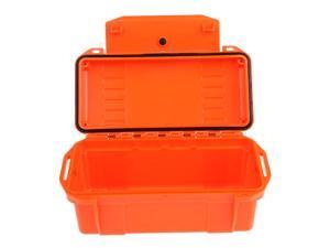 Outdoor Waterproof Shockproof Storage Box Airtight Emergency Dry Box Orange