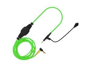 Boom Microphone Universal Volume Cable for Sennheiser Momentum  green