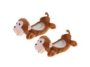 Animal Ice Hockey Figure Skate Blade Covers Soakers Guards Skating Monkey