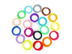 3D Printer Filament PLA 1.75mm For Printers and Print Pens 20Colors 10m