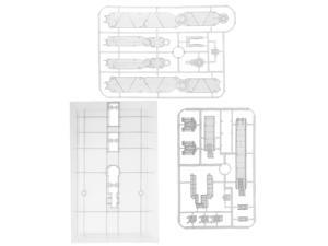 Action Base Suitable Display Stand For 1/60 1/100 PG MG Gundam Figure  Clear