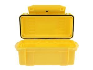 Outdoor Waterproof Shockproof Storage Box Airtight Emergency Dry Box Yellow