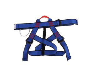 Climbing Harness,Safe Seat Belts for Tree/Rock Climbing Training Caving Blue