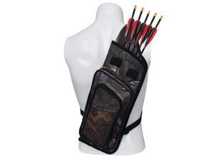 Archery Quiver Backpack Hunting Bag Compound Recurve Bow Holder Leaves Camo