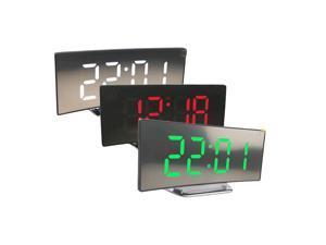 3pcs Ultra Large LED Display Screen Digital Mirror Alarm Clock