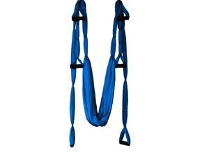 Large Bearing Yoga Swing Sling Hammock Trapeze Inversion Tool - Deep Blue