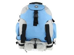 Roller Inline Skates Backpack Skate Skating Shoes Carrying Bag Blue