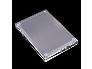 Transparent Acrylic Photo Frame Clear Picture Frame Holder Display 125x90mm