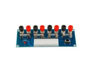 24-Pin ATX Benchtop Power Board Computer Power Supply Breakout Adapter