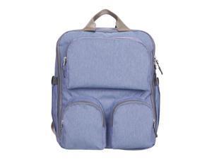Large Capacity Mummy Nursing Bag Baby Nappy Diaper Bag Backpack Blue purple