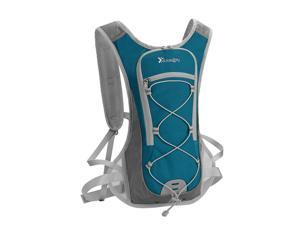 2L Water Backpack Hydration Pack Camping Water Bladder Bag Pouch Lake Blue