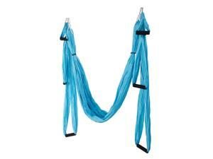 Large Bearing Yoga Swing Sling Hammock Trapeze Inversion Tool - Sky Blue