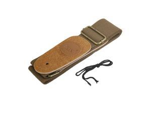 Adjustable Guitar Strap for Folk/Acoustic/Electri Guitar Coffee