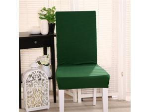 Polyester Chair Seat Cover Stretch Chair Protector Slipcover NEW Green