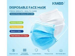 "200pcs/4box Searching "" KANBO Ear-Loop Disposable face mask"" on YouTube to find more details!"