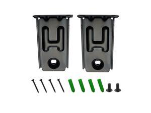 1 Pair of Black Wall Bracket for LG SPH2B-P SPH5B-W SPK8-W SPJ2B-W SPJ5B-W SPJ9B-W S44A1-D S54A1-D S55A1-D Audio Home Theater System