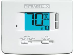 TRADEPRO® - TP-N-521 Non-Programmable Thermostat 2H/1C