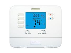VIVE™ - TP-P-705 5+1+1 Large Screen Programmable Thermostat 1H/1C