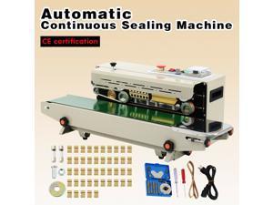 Automc Horizontal Continuous Plastic Bag Band Sealing Sealer Machine 500W CE