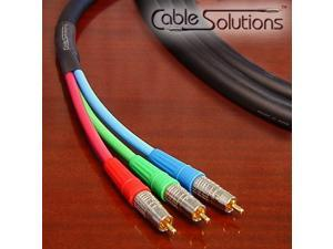 Homelife V3-5C Pro Jacketed Component Video Cable 3m