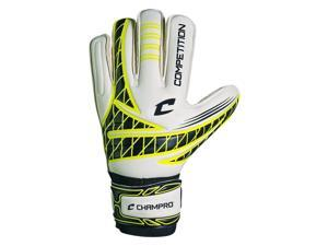 Champro SG5OY11 Champro Competition Goalkeepers Glove Optic Yellow Size 11