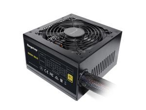 Segotep 650W Power Supply 80 Plus Gold Certified PSU Gaming Power Supply with Silent 120mm Fan Non-Modular