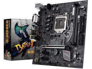 Segotep B560M-D PRO V20 Battle-AX LGA1200 (Intel11th/10th Gen) Micro ATX Gaming Motherboard (INTEL B560, PCIe 4.0, Dual M.2 Slots, USB 3.2 GenX6, 6-Channel Audio, 4X SATA 6.0 Gb/s Ports)