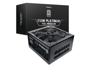Segotep 850w Power Supply 80 Plus Platinum Fully Modular ATX Gaming PSU with 140mm Hybrid Silent Fan