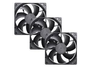Segotep 120mm Case Fan Cooling PC Fan Computer Case Fan Super Quiet High Performance for Computer Cases Cooling 3 Packs