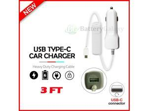 USB Type-C Car Charger for  Moto G Fast / G Power / G Stylus /G 5G Plus