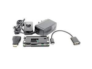 Inc Raspberry Pi Zero Starter Case Kit with Power Adapter and Cables RASPCS01PWRBK