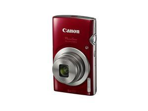 PowerShot ELPH 180 Digital Camera wImage Stabilization and Smart AUTO Mode Red
