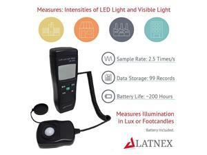 Meter LM50KL Measures LuxFc LEDFluorescent Industrial Household and Photography Calibration Certificate Included