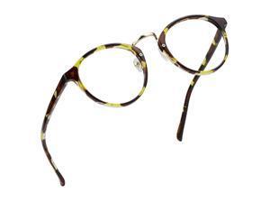 Blue Light Blocking Glasses Anti Eyestrain Computer Reading Glasses Gaming Glasses TV Glasses for Women Men Anti Glare Tortoise 500 Magnification