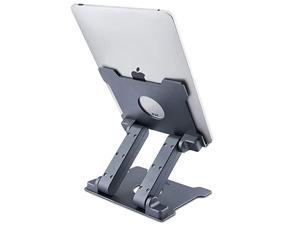Tablet Stand Adjustable Aluminum Tablets7135 inch Holder for iPad 20172018iPad ProSurface Pro Surface Pro 3 4FIRD HD 10Samsung Galaxy Tab EASUS Transformer with a Carry BagSpace Grey