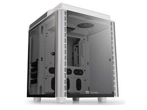Level 20 HT Snow Edition 4 Tempered Glass TypeC Fully Modular EATX Full Tower Computer Chassis with 2 140mm Top Fan PreInstalled CA1P600F6WN00