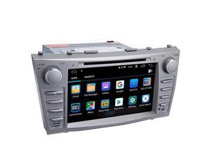 Car Stereo DVD PlayerDouble Din inDash Multimedia Receiver with Touchscreen Builtin Bluetooth MP3 Player GPS Navigation SD AUX Input Radio Receiver Android 90