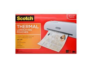 Thermal Laminating Pouches 1145 x 1748Inches 25Pouches TP385625