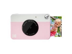 KODAK Printomatic Digital Instant Print Camera Pink Full Color Prints On  2x3 StickyBacked Photo Paper Print Memories Instantly